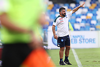 Gennaro Gattuso coach of SSC Napoli gestures<br /> during the friendly football match between SSC Napoli and Pescara Calcio 1936 at stadio San Paolo in Napoli, Italy, September 11, 2020. <br /> Photo Cesare Purini / Insidefoto