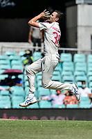 10th January 2021; Sydney Cricket Ground, Sydney, New South Wales, Australia; International Test Cricket, Third Test Day Four, Australia versus India; Josh Hazlewood of Australia bowling