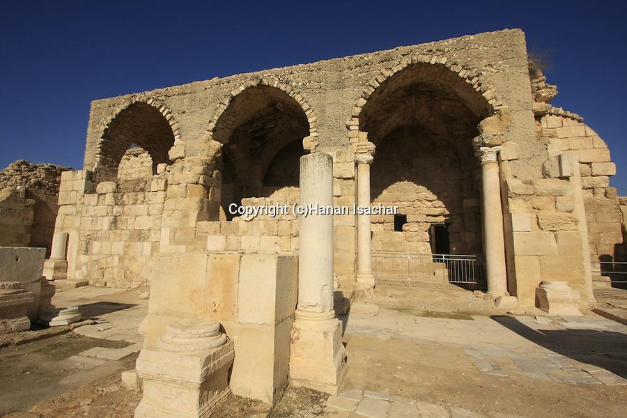 Israel, Shephelah, the Crusader Church in Beth Guvrin