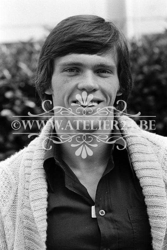 1977. RSC Anderlecht. Frank Vercauteren.