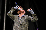BALTIMORE, MD - MAY 21:  Corey Smith & band rock the Jaegermeister Stage in the infield at Pimlico Racecourse on May 21, 2016, in Baltimore, MD. (Photo by Sue Kawczynski/Eclipse Sportswire/Getty Images)