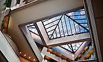 PNC Bank Building Skylight, Dayton Ohio. Designed by architect I.M.Pei