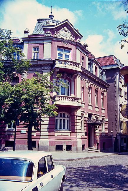 Apartment Building, Downtown Sofia