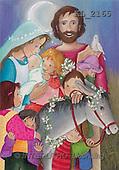 Interlitho, Soledad, CHRISTMAS CHILDREN, naive, paintings, hl.fam, kids(KL2165,#XK#) Weihnachten, Navidad, illustrations, pinturas