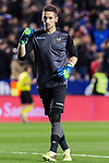 Goalkeeper Oier Olazabal Paredes of Levante UD gestures during the La Liga 2017-18 match between Levante UD and Real Madrid at Estadio Ciutat de Valencia on 03 February 2018 in Valencia, Spain. Photo by Maria Jose Segovia Carmona / Power Sport Images