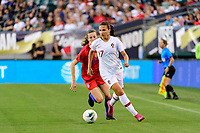 PHILADELPHIA, PA - AUGUST 29: Vanessa Marques #17 of Portugal during a game between Portugal and USWNT at Lincoln Financial Field on August 29, 2019 in Philadelphia, PA.
