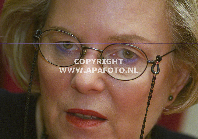 echteld 181200 hanja may weggen lid europees parlement <br />foto frans ypma APA-foto