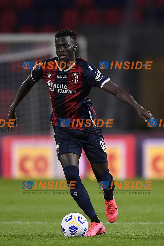 Musa Barrow <br /> during the Serie A football match between Bologna FC and Parma Calcio 1913 at stadio Renato Dall Ara in Bologna (Italy), September 28th, 2020. Photo Image Sport / Insidefoto