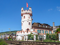 Adlerturm, Rüdesheim, Hessen, Deutschland, Europa<br /> ,Adlerturm, Rüdesheim, Hesse, Germany, Europe