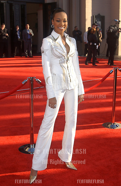 MONICA at the 31st Annual American Music Awards in Los Angeles..November 16, 2003