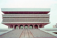 Albany: Cultural Education Center, Empire State Plaza. Photo '88.
