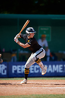 Jackson Merrill during the WWBA World Championship at Terry Park on October 10, 2020 in Fort Myers, Florida.  Jackson Merrill, a resident of Severna Park, Maryland who attends Severna Park, is committed to Army.  (Mike Janes/Four Seam Images)