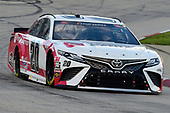 MARTINSVILLE, VIRGINIA - JUNE 10: Erik Jones, driver of the #20 Genuine Parts Toyota, drives during the NASCAR Cup Series Blue-Emu Maximum Pain Relief 500 at Martinsville Speedway on June 10, 2020 in Martinsville, Virginia. (Photo by Jared C. Tilton/Getty Images)