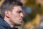 13.10.2020, Trainingsgelaende am wohninvest WESERSTADION - Platz 12, Bremen, GER, 1.FBL, Werder Bremen Training<br /> <br /> <br /> Clemens Fritz (sportlicher Direktor und Leiter Scouting SV Werder Bremen)<br /> Medienrunde <br /> Querformat<br /> Einzelaktion, Halbkörper / Halbkoerper,<br /> angeschnitten<br /> <br /> <br /> Foto © nordphoto / Kokenge