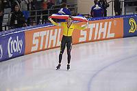 SCHAATSEN: HEERENVEEN: 27-01-2019, IJsstadion Thialf, NK Allround&Sprint, huldiging, ©foto Martin de Jong