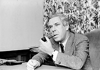 Le pere de l'Assurance Maladie, Claude Castonguay<br /> , le 14 novembre 1973, a Quebec<br /> <br /> Photo : Agence Quebec Presse