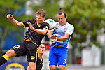 NELSON, NEW ZEALAND - DECEMBER 8: Tasman Utd v Wellington Phoenix at Trafalgar Park, Nelson, New Zealand. Sunday 8th December 2019. (Photos by Barry Whitnall/Shuttersport Limited)