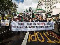 "01.10.2016 - ""Rage For Aleppo"" in London"
