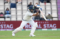 Virat Kohli, India. Drives into the covers for a single during India vs New Zealand, ICC World Test Championship Final Cricket at The Hampshire Bowl on 19th June 2021