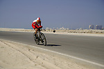 Ruben Fernandez Andujar (ESP) Cofidis during Stage 2 of the 2021 UAE Tour an individual time trial running 13km around  Al Hudayriyat Island, Abu Dhabi, UAE. 22nd February 2021.  <br /> Picture: Eoin Clarke | Cyclefile<br /> <br /> All photos usage must carry mandatory copyright credit (© Cyclefile | Eoin Clarke)