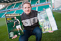Hibernian player Paul Cairney at today's press conference at Easter Road  ...