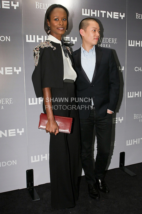 Shala Monroque and Jason Wu arrive at the 2011 Whitney Art Party: The Groundbreakers, at Highline Stages, May 24, 2011.