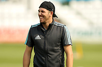 Jamie Overton of Surrey laughs in training priory to Essex Eagles vs Surrey, Vitality Blast T20 Cricket at The Cloudfm County Ground on 11th September 2020