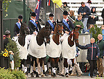 03 October 2010.  Great Britain wins the Gold Medal for Team Competition in Eventing.