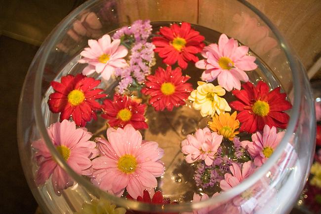 Flowers, Awana Restaurant, London, England