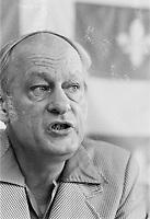 ARCHIVE -<br /> <br /> Le chef du PQ ;  René Lévesque,<br /> le 22 Juin 1976<br /> <br /> Photo : Agence Quebec Presse  - Alain Renaud