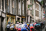The peloton during Stage 16 of the 2021 Tour de France, running 169km from Pas de la Case to Saint-Gaudens, France. 13th July 2021.  <br /> Picture: A.S.O./Pauline Ballet   Cyclefile<br /> <br /> All photos usage must carry mandatory copyright credit (© Cyclefile   A.S.O./Pauline Ballet)