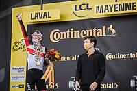 stage winner Tadej Pogacar (SVN/UAE-Emirates)<br /> <br /> Stage 5 (ITT): Time Trial from Changé to Laval Espace Mayenne (27.2km)<br /> 108th Tour de France 2021 (2.UWT)