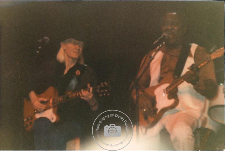 Johnny Winter & Muddy Waters , Live , 1981 , DAVID PLASTIK