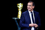 Giuseppe Sala on stage at the route presentation for the 103rd edition of the Giro d'Italia 2020 held in the RAI Studios, Milan, Italy. <br /> 24th October 2019.<br /> Picture: LaPresse/Marco Alpozzi   Cyclefile<br /> <br /> All photos usage must carry mandatory copyright credit (© Cyclefile   LaPresse/Marco Alpozzi)