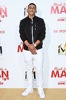 HOLLYWOOD, LOS ANGELES, CA, USA - JUNE 09: Khleo Thomas at the Los Angeles Premiere Of Screen Gems' 'Think Like A Man Too' held at the TCL Chinese Theatre on June 9, 2014 in Hollywood, Los Angeles, California, United States. (Photo by David Acosta/Celebrity Monitor)