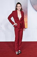"""Claire Duburcq<br /> arriving for the Royal Film Premiere of """"1917"""" in Leicester Square, London.<br /> <br /> ©Ash Knotek  D3543 04/12/2019"""