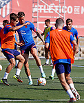 Atletico de Madrid's Saul Niguez during training session. July 22,2021.(ALTERPHOTOS/Atletico de Madrid/Pool)
