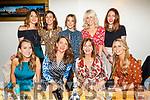 Enjoying the Costello family reunion in Bella Bia on Saturday night.<br /> Seated l to r: Carol and Hazel Mc Mahon, Veronica Costello and Mary Ellen Costello. <br /> Standing l to r: Martina Sheehan, Sharon Costello, Sinead Scannell, Jeanette Costello and Samantha Sheehan.
