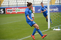 20190227 - LARNACA , CYPRUS : Italian midfielder Valentina Bergamaschi pictured during a women's soccer game between Mexico and Italy , on Wednesday 27 February 2019 at the Antonis Papadopoulos Stadium in Larnaca , Cyprus . This is the first game in group B for both teams during the Cyprus Womens Cup 2019 , a prestigious women soccer tournament as a preparation on the FIFA Women's World Cup 2019 in France and the Uefa Women's Euro 2021 qualification duels. PHOTO SPORTPIX.BE | STIJN AUDOOREN