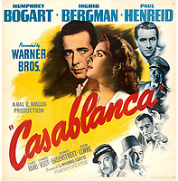 An extremely rare Casablanca film poster has emerged for sale for £230,000.