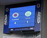 02.05.2121 Rangers v Celtic: Full time score