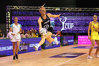 Jane Watson of Silver Ferns during the Constellation Cup international netball series match between New Zealand Silver Ferns and Australian Diamonds at Christchurch Arena in Christchurch, New Zealand on Tuesday, 2 March 2021. Photo: Martin Hunter / lintottphoto.co.nz