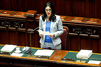The Minister of Instruction Lucia Azzolina  during the information at the Chamber of Deputies, about the measures to contrast the Covid-19 pandemic at the reopening of the schools on September 14th.<br /> Rome (Italy), September 9th 2020