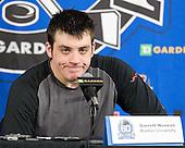 Garrett Noonan (BU - 13) - The Boston College Eagles defeated the Boston University Terriers 3-2 (OT) to win the 2012 Beanpot championship on Monday, February 13, 2012, at TD Garden in Boston, Massachusetts.