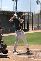 Michael Guldberg - Oakland Athletics 2021 spring training (Bill Mitchell)