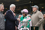 Emollient and Mike Smith win the 58th running of The Juddmonte Spinster Grade 1 $500,000 at Keeneland Race Course for owner Juddmonte Farms and trainer Bill Mott.  October 06, 2013.