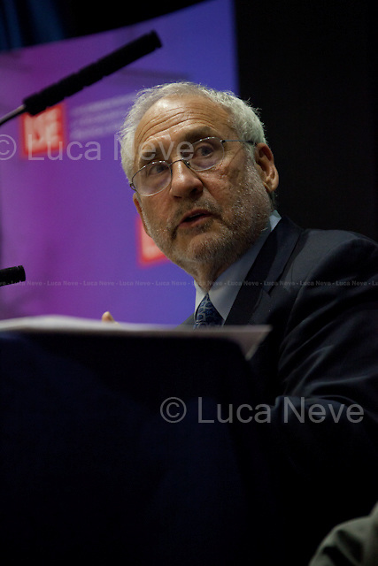 """Joseph E. Stiglitz, Economist, Professor at Columbia University, recipient of the Nobel Memorial Prize in Economic Sciences in 2001 and the John Bates Clark Medal in 1979. He is also the former Senior Vice President and Chief Economist of the World Bank. <br /> <br /> For more pictures on this event click here: <a href=""""http://bit.ly/OuF6Vi""""> http://bit.ly/OuF6Vi</a>"""