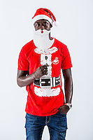 Wednesday 02 November 2016<br /> Pictured: Modou Barrow<br /> Re: Swansea City Christmas Photo shoot, Liberty Stadium, Wales, UK