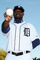 Feb 21, 2009; Lakeland, FL, USA; The Detroit Tigers pitcher Fernando Rodney (56) during photoday at Tigertown. Mandatory Credit: Tomasso De Rosa/ Four Seam Images