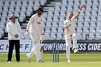 Stuart Broad in bowling action for Nottinghamshire during Nottinghamshire CCC vs Essex CCC, LV Insurance County Championship Group 1 Cricket at Trent Bridge on 9th May 2021